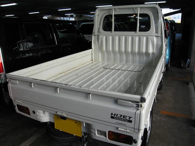 HIJET rear view
