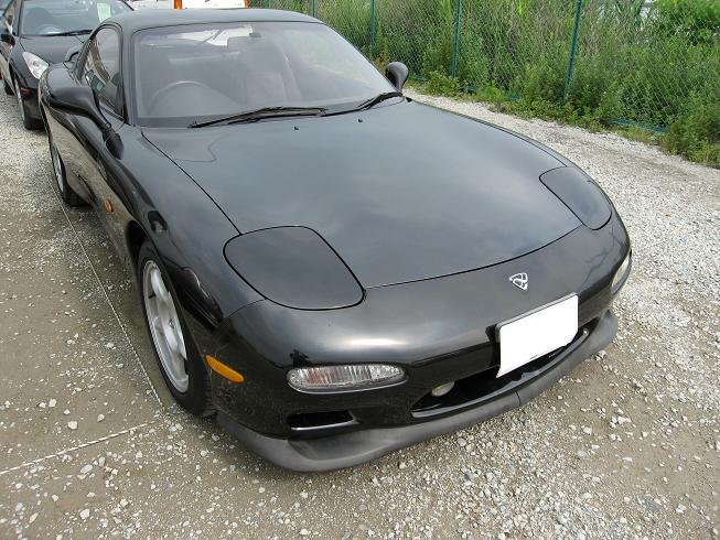 RX7 front view FD3S FC3S
