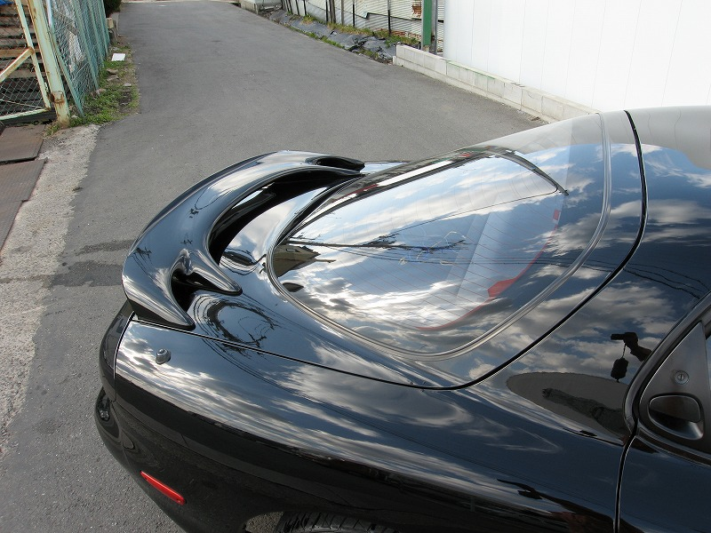 MAZDA RX-7 Type-R�U Genuine rear Spoiler view