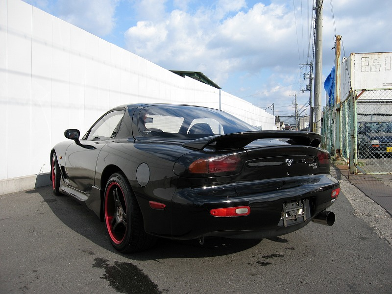 MAZDA RX-7 Type-R�U rear view3