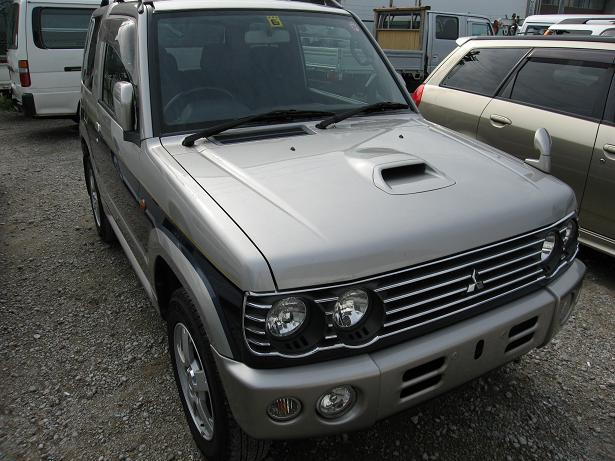 pajero mini front view H58A H56A