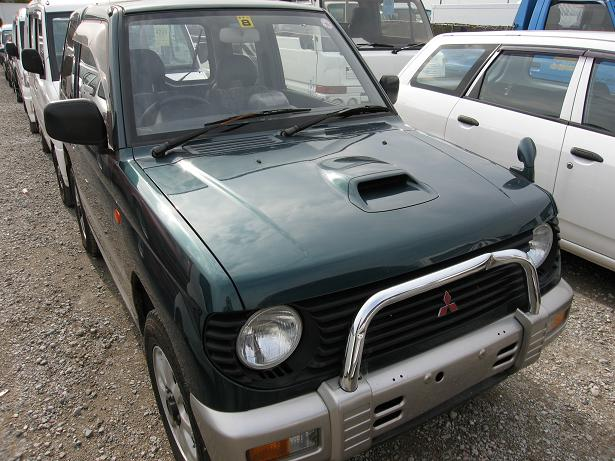 pajero mini front view H56A H58A