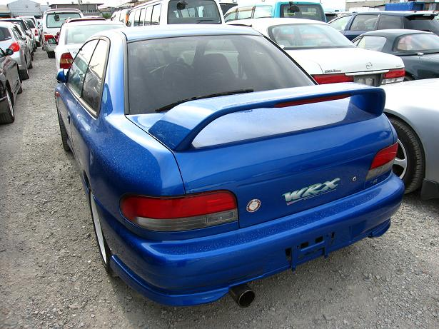 impreza rear view for sale japan
